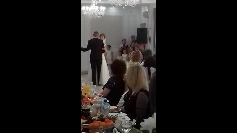 Перший танець Сергія та Каті