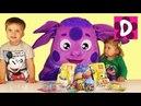 ✿ ЛУНТИК Диана и Рома Открывают Сюрприз Shopkins Mickey Mouse Minions lps Scooby-Doo unboxing toys