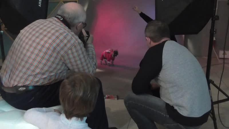 Бэкстейдж со съемок для ветклиники Умка