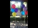 танцующие фонтаны шаров