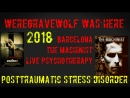 Posttraumatic stress disorder (PTSD) healing by The Machinist 2004 and 2018