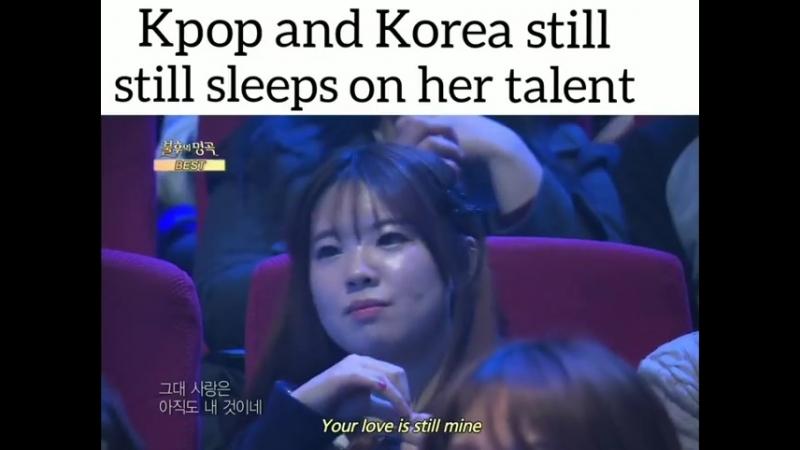 К-поп и Корея до сих спят над её талантом