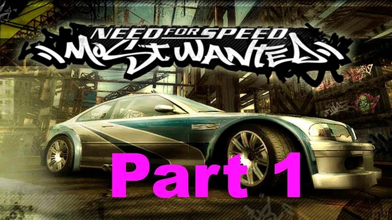Need For Speed Most Wanted walkthrough part 1