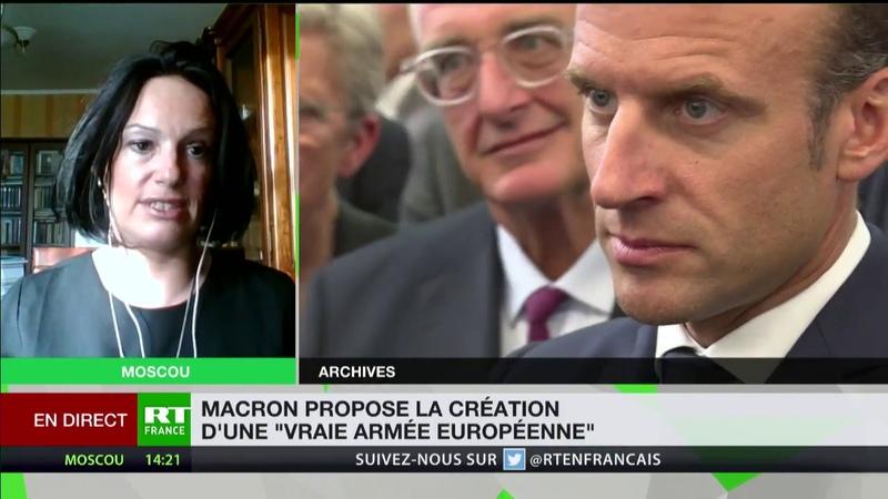 Armée européenne Ces déclarations d'Emmanuel Macron semblent être une fuite en avant