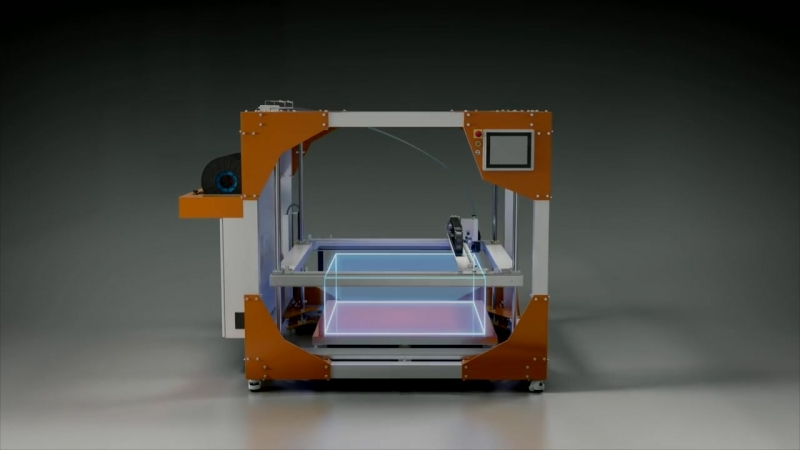 BigRep ONE The Most Advanced Large Scale 3D Printing Experience