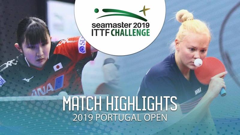 Hina Hayata vs Georgina Pota | 2019 ITTF Challenge Plus Portugal Open Highlights (14)