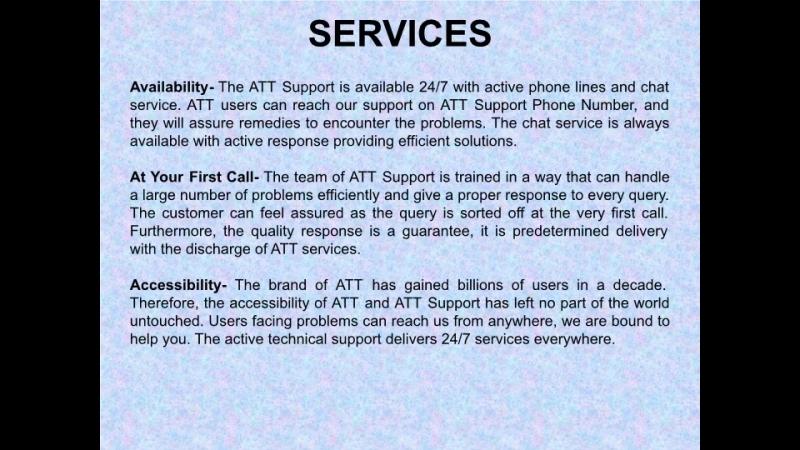 ATT Support Phone Number Is Active Helpline