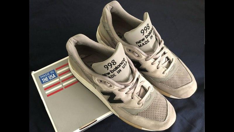 Прикупил New Balance 998 ручной работы USA