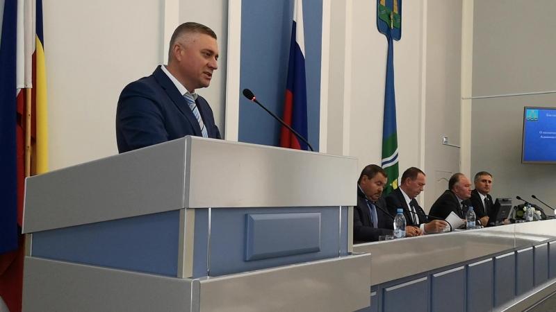 Геннадий Павлятенко первое выступление нового главы батайской администрации