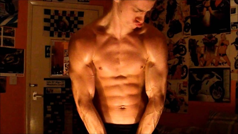 Super Shredded Muscle Gets Oiled Up - Ste from Ripped Guy UK