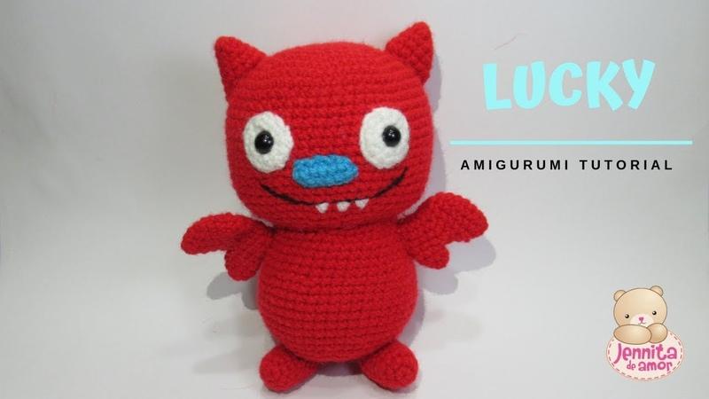 LUCKY UGLYDOLL AMIGURUMI Tutorial Crochet patrón escrito en descripción