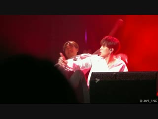 Fancam | 190127 | kim dong han — good night kiss (cut) [day&night]