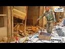 Адские находки в крепости ИГИЛ Кочующие миномёты военные мастерские и огромные туннели