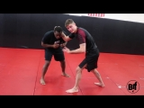 The Wrestling Ankle Pick Mixed with a BJJ Guard Pass