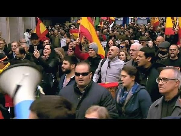 Мадрид: Femen против франкистов