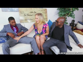 Julia Ann / Blacks On Moms / IR HD