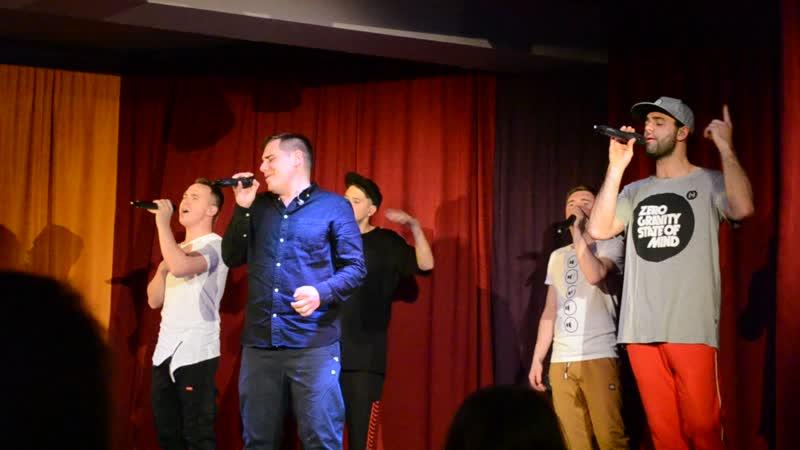 A cappella band PlusFive (Ed Sheeran Perfect)