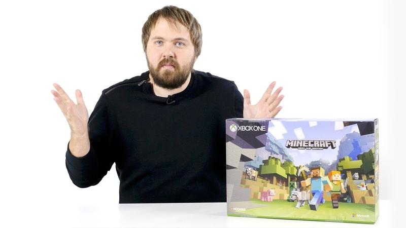 Распаковка Xbox One S Minecraft Edition
