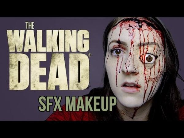 Glenns Face 7x01 | THE WALKING DEAD SFX MAKEUP TUTORIAL