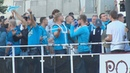 Когда фанаты и команды вместе домашняя поддержка из акватории Невы