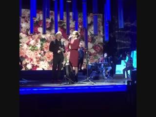 Дмитрий Харатьян и Екатерина Гусева на репетиции песни для передачи Романтика романса