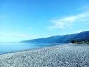 Море... раннее утро... Гагра!