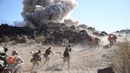US Marines in Heavy Firefight and Clashes Simulation - Combat Training