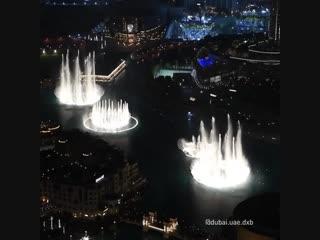 Самое популярное шоу в Дубае - Фонтан Дубай!