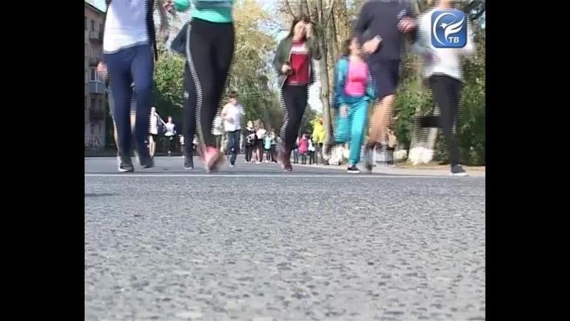 Кросс наций-2018 рекордное количество сокольчан пробежали по главной улице города бумажников