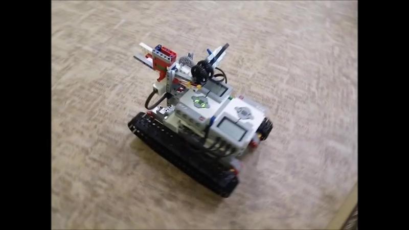 Робот-танк. Готовимся к Танковому биатлону (Роботлон)