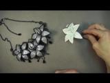 Творческие люди.Мастер-класс. Стилизованная лилия из фоамирана