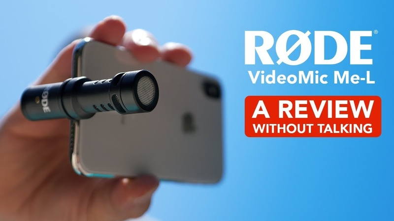 The Best Microphone For iPhone Rode VideoMic Me L — A Review Without Talking