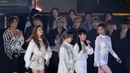 [HD] 161226 [Fancam] Red Velvet, Big Bang, BTS - Reaction MAMAMOO @ SBS Gayo Daejun 2016.