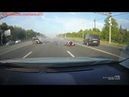 Жесткие Аварии на мотоциклах