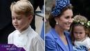 Kate Middleton vuelve a vestir a sus hijos con ropa española en la boda de su mejor amiga