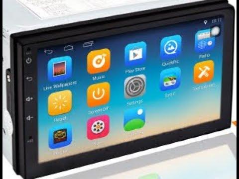 Универсальная 2 DIN Магнитола Android 8.1 Размер178x100