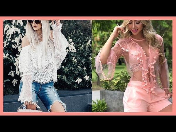 Blusas de Moda Primavera Verano 2018