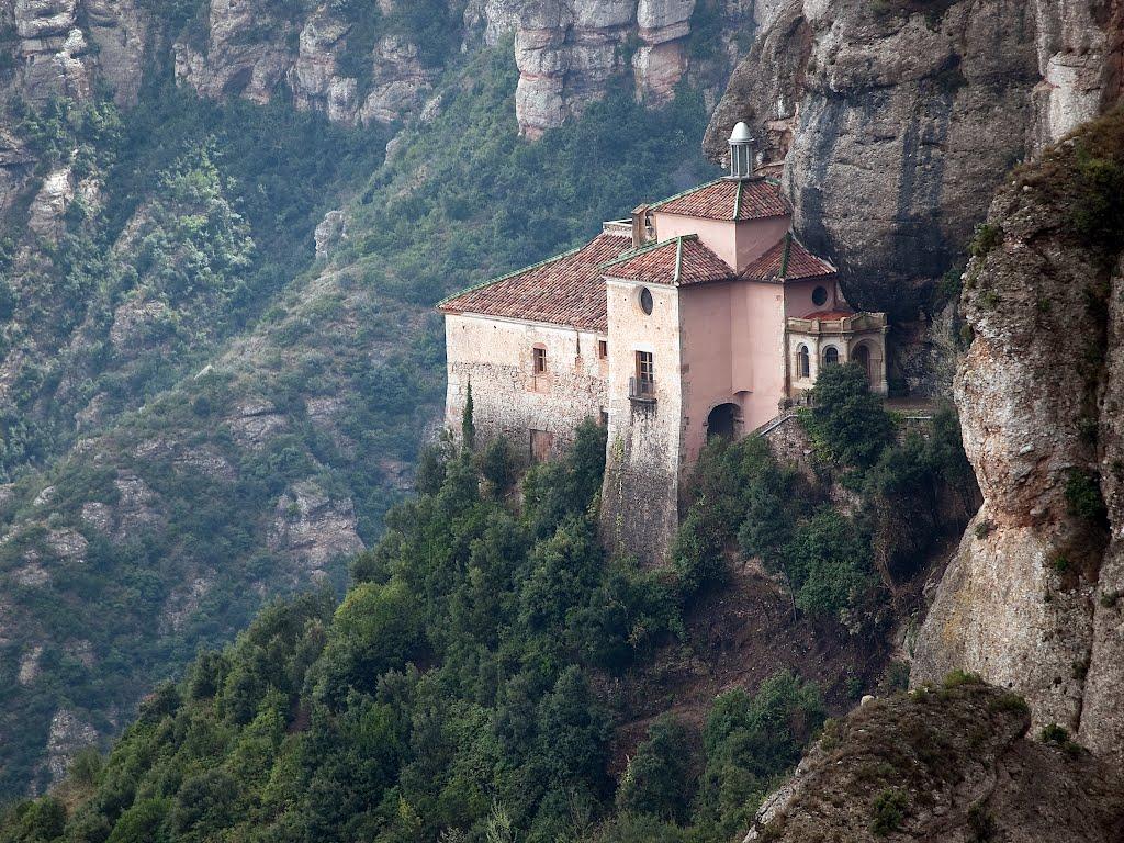Oe4sx6XSOQA Монастырь Монсеррат жемчужина Каталонии.