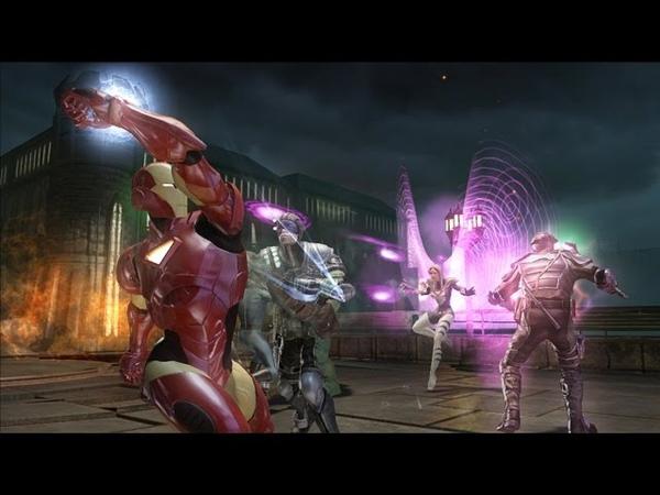 Marvel Ultimate Alliance 2 Walkthrough Part 34 (PS3, X360) Runthrough - [Anti]