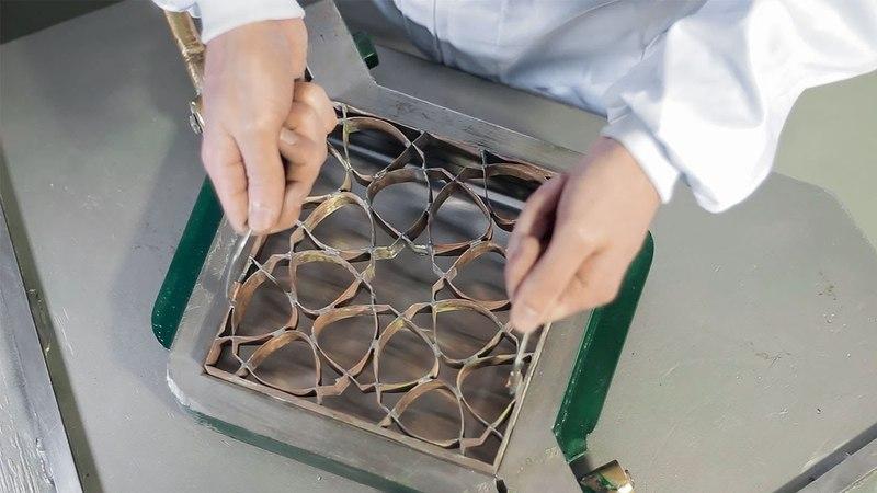 Fábrica de suelo hidráulico - Mosaic del Sur©
