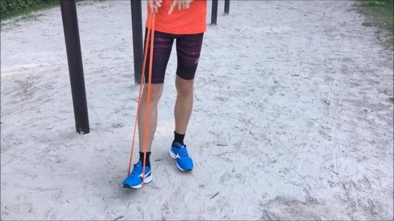 Бег для новичков[6] Укрепление мышц стопы Часть 2