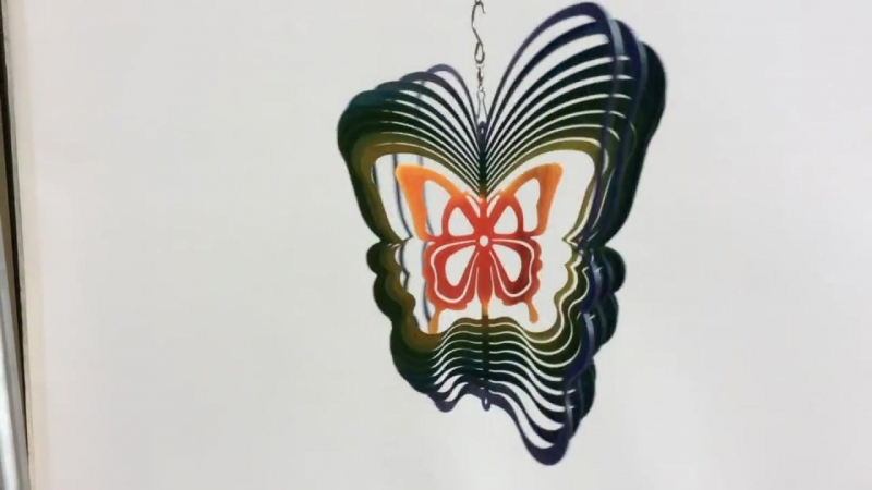 Ветряной арт-объект Бабочка