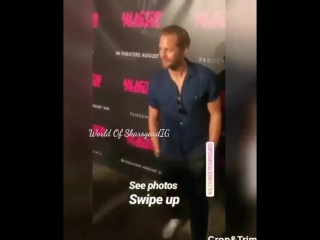 "Alexander Skarsgard at the premiere of ""An Actor Prepares"" on 8/29/18"