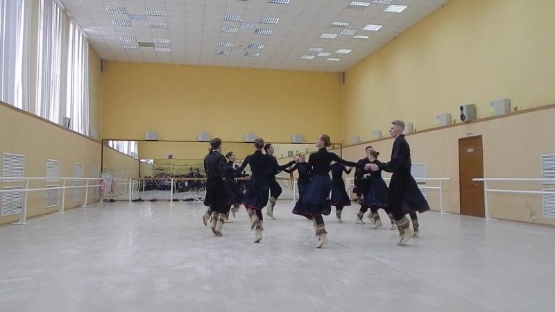 бурятский танец