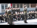 Прощаемся со знаменем военного института!