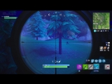 WTF moments Fortnite (sniper shot, 196m)
