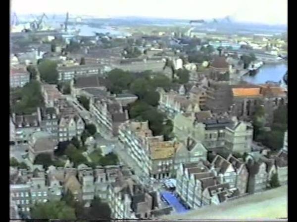 Centrum Gdańska, lato 1988