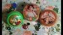 Шкатулка из баночки от крема. Красивая баночка для мелочей из подручных материалов!