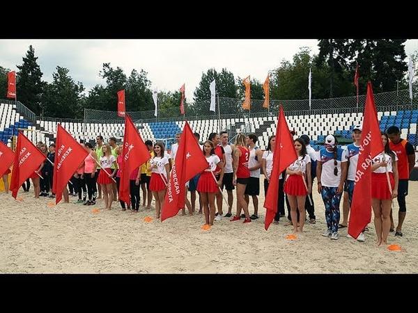 Чемпионат железнодорожников по пляжному волейболу 1 й день