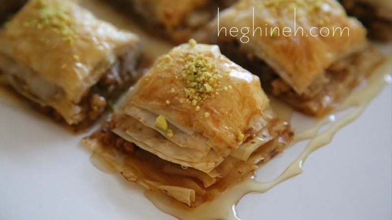 Փախլավա - Homemade Baklava Recipe - Հեղինե - Heghineh Cooking Show in Armenian